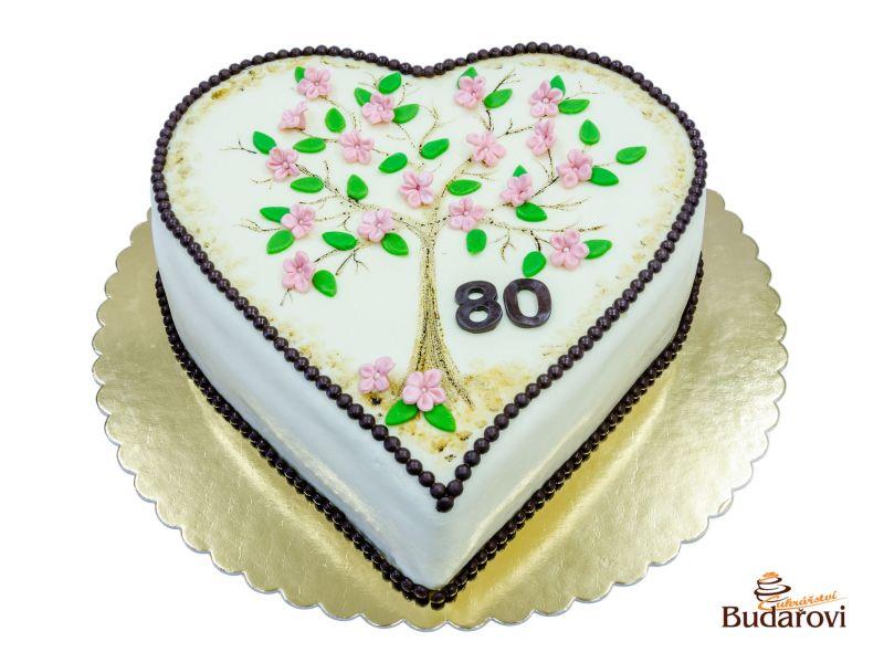 316 - Srdce - kvetoucí strom