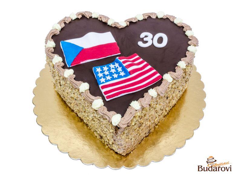 319 - Srdce - vlajka