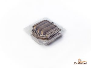 Trubička čokoládová korpus 10 ks