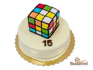 165 - Dort kulatý - Rubikova kostka