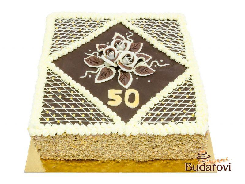 354 - Dort čtverec čokoládový