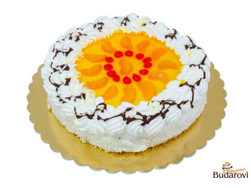 Ovocný dort - mandarinka