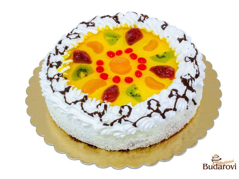 Ovocný dort šlehačkový - mix