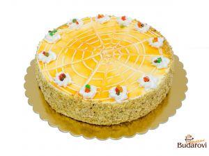 Jarní slunce dort