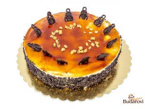 Karamelové pokušení dort