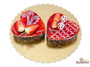 Valentýnské srdíčko 1 ks
