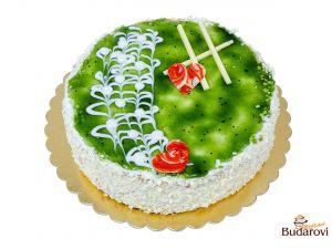 724 - Šlehačkový dort hruškový