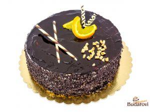 723 - Šlehačkový dort čokoládový