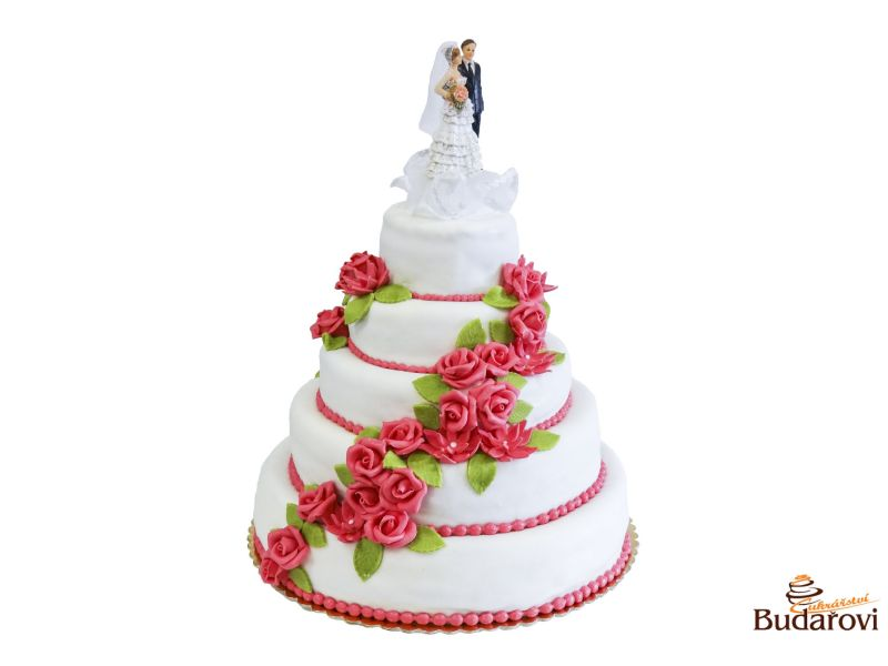 401 - Dort 5 patrový - svatební
