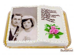 455 - Kniha - výročí svatby