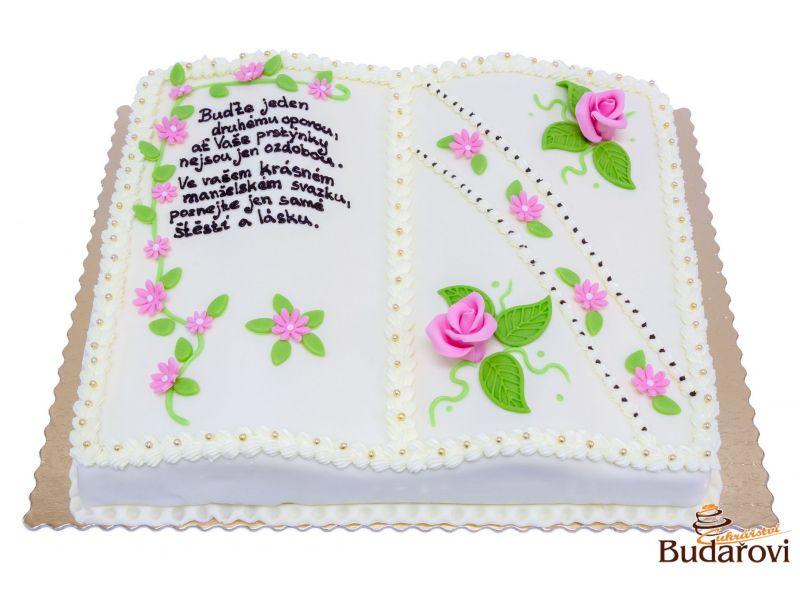 452 - Dort kniha svatební