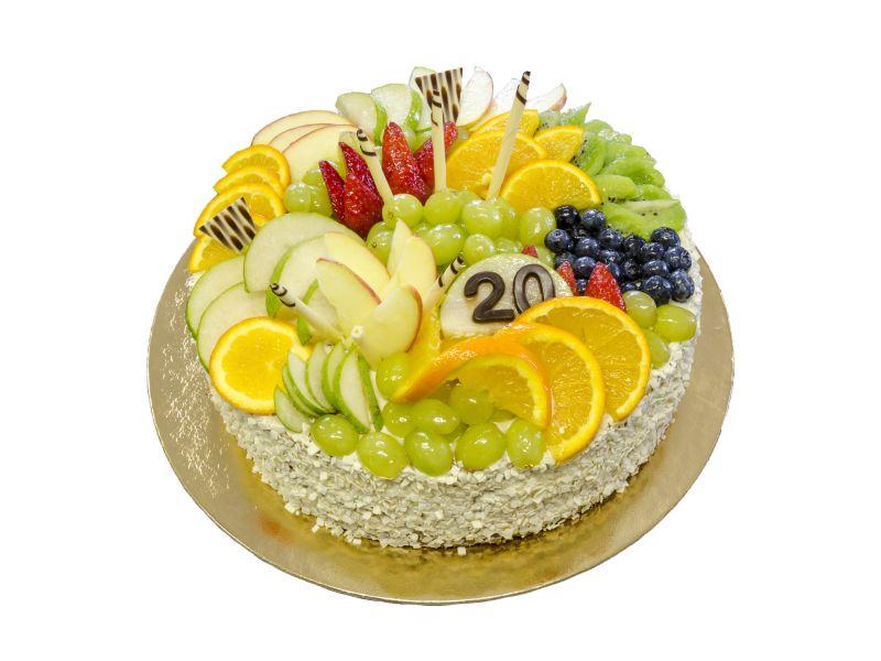754 – Dort s čerstvým ovocem