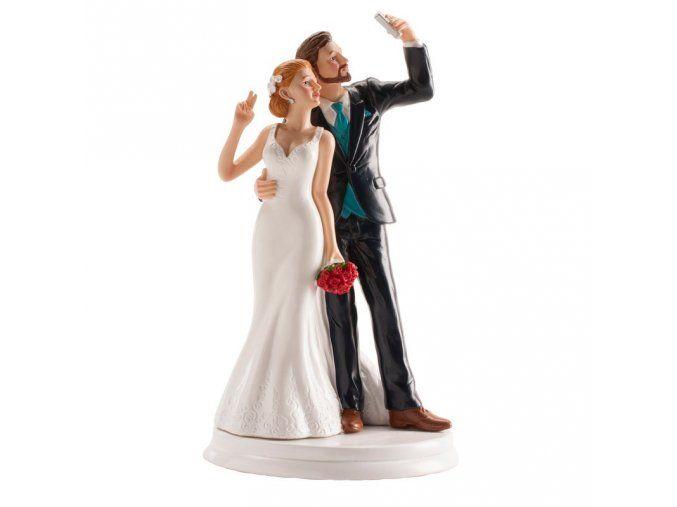 Svatební figurka 051