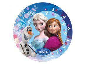 Jedlý oplatek 9 Frozen - 20 cm