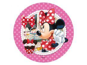 Jedlý oplatek 2 Minnie Mouse 20 cm