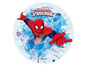 Jedlý oplatek 1 Spiderman - 20 cm