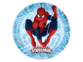Jedlý oplatek 2 Spiderman 20 cm