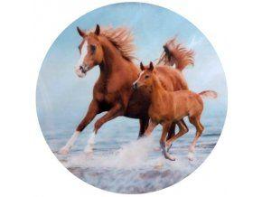 Jedlý oplatek 1 koně - 20 cm