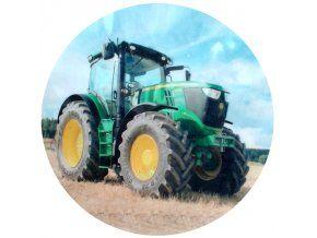 Jedlý oplatek 1 traktor - 20 cm