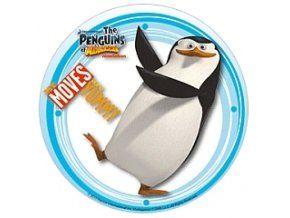 Jedlý oplatek 1 tučňáci - 20 cm