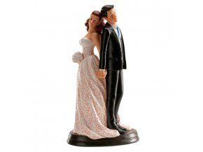 Svatební figurka 006