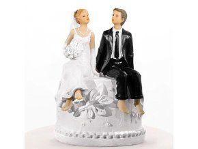 Svatební figurka 011