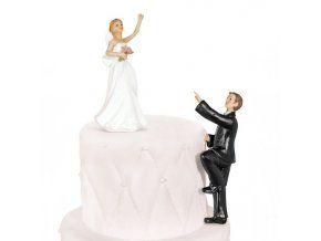 Svatební figurka 012