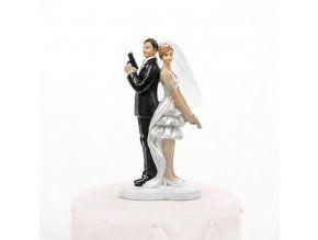 Svatební figurka 014