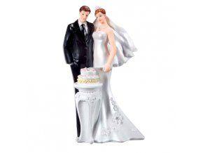 Svatební figurka 016