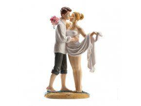 Svatební figurka 018