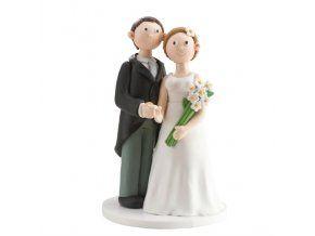 Svatební figurka 019