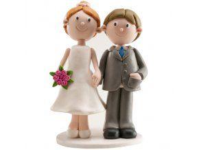 Svatební figurka 020