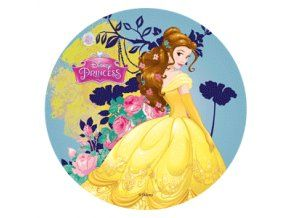 Jedlý oplatek 1 Princess - 20 cm
