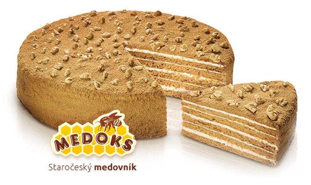 Medovník staročeský dort velký