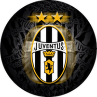 Jedlý oplatek Juventus - 20 cm