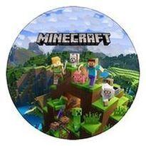 Jedlý oplatek 1 Minecraft - 20 cm