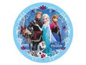 Jedlý oplatek 2 Frozen - 20 cm