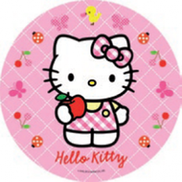 Jedlý oplatek 1 Hello Kitty - 20 cm