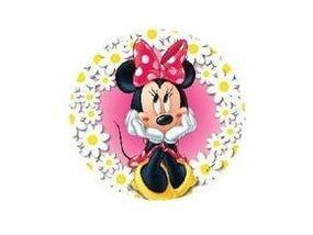 Jedlý oplatek 8 Minnie Mouse 20 cm