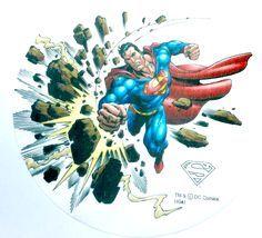 Jedlý oplatek 1 Superman - 20 cm