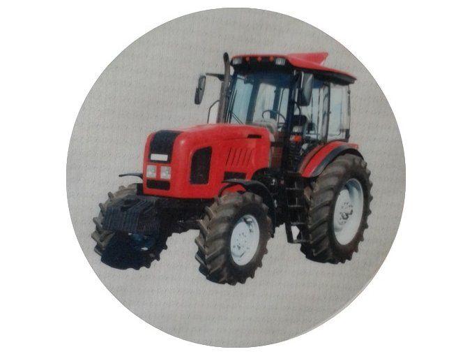 Jedlý oplatek 2 traktor 20 cm