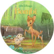 Jedlý oplatek Bambi - 20 cm