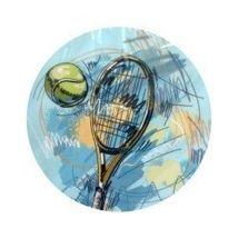 Jedlý oplatek tenis - 20 cm