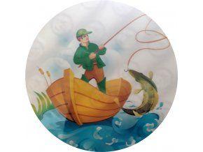 Jedlý oplatek rybář - 20 cm