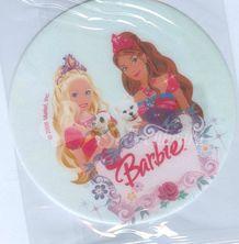 Jedlý oplatek Barbie - 2 malý - 14 cm
