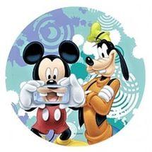 Jedlý oplatek Mickey - 20 cm