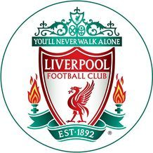 Jedlý oplatek - Liverpool - 20 cm