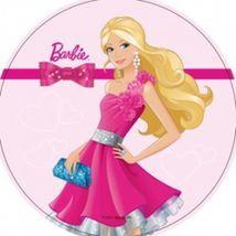 Jedlý oplatek 2 Barbie - 20 cm