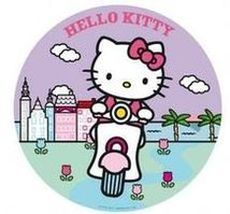 Jedlý oplatek 2 Hello Kitty - 20 cm
