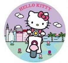 Jedlý oplatek 2 Hello Kitty - 20 cm